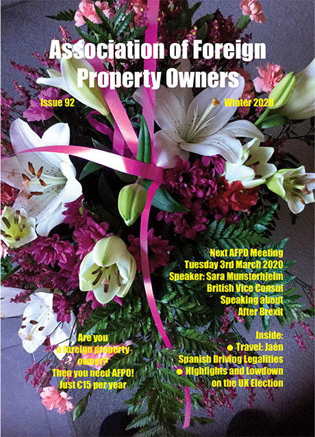 The front cover of the latest issue